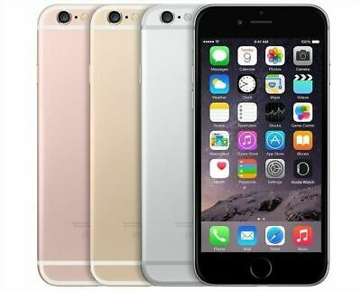 Apple iPhone 6S - 16GB 64GB - Gray, Rose, Gold, Silver - Factory Unlocked 4G LTE
