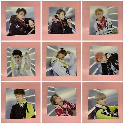 """NCT 127 Official FOLDING PHOTO Card From KIHNO KIT """"WE ARE SUPERHUMAN"""" Select"""
