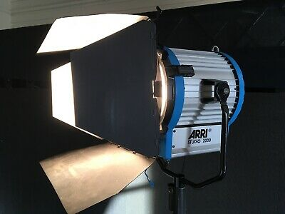 Arri Studio 2000 watt tungsten fresnel light