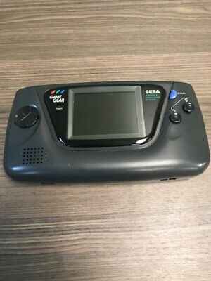 Sega Game Gear Handheld Video Game Console Black Very Good Portable System 3E