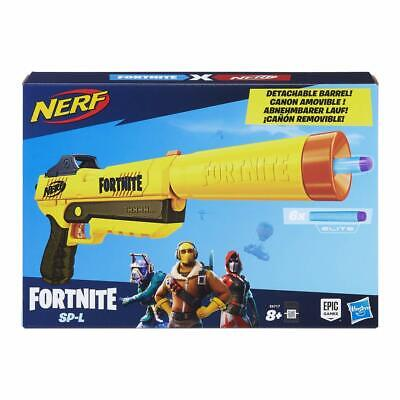 Fortnite Toy NERF Gun Elite Blaster Pistol 6 Darts For Kids Fun Outdoor Activity