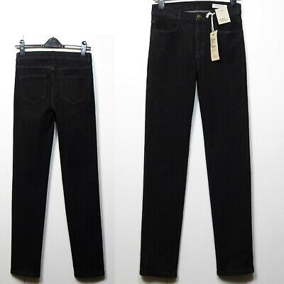 M/&S INDIGO Low Rise SKINNY Leg CORD JEANS ~ Size 14 Med ~ BROWN