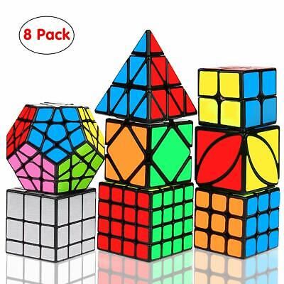 083fb32e64f6 DREAMPARK SPEED CUBE Set, [5 Pack] Magic Cube Bundle - 2x2x2 3x3x3 ...
