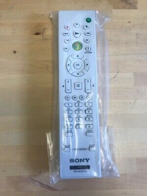 Sony PC RM-MCE30U Remote Control RMMCE30U White Wireless Brand New