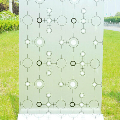 Translucent Frosted Glass Film Window Decal Self Adhesive Bathroom Decoration