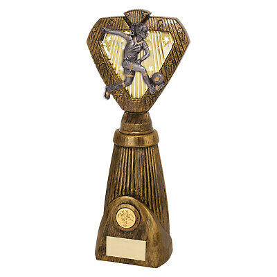 Valiant Striker Player of the Match Football Trophies 3 sizes FREE Engraving