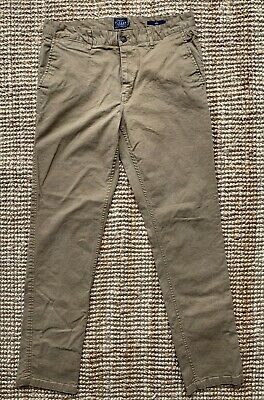 Men's ** Joules ** Beige / Sand Chino Trousers Size W34