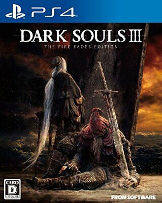 PS4 DARK SOULS III THE FIRE FADES EDITION Nromal edition  w / Tracking