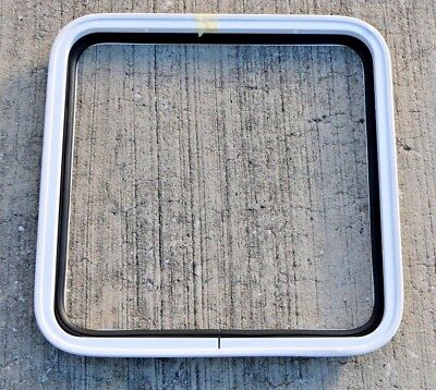 "Sea Ray Bayliner 16-5/16"" Square Boat Storage Door Replacement Aluminum Frame"