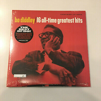 Bo Diddley - 16 All-Time Greatest Hits (Mono LP) RSD18