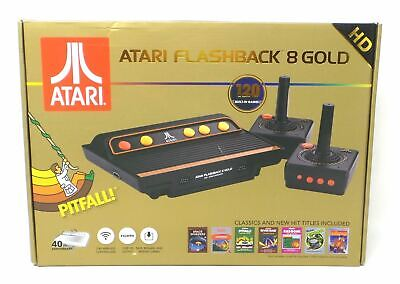 Atari Flashback 8 Gold HD Classic Gaming Console 120 Built-In Games AR3620