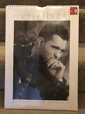 Official Michael Bublé 2016 A3 Calendar - Unused Brand New & Sealed