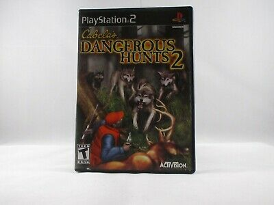 Cabela's Dangerous Hunts 2 - USED Playstation 2 Game COMPLETE