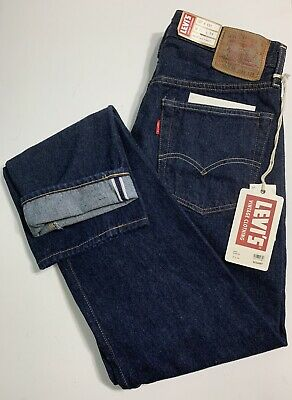bca94724fb9 Levis Mens Vintage Clothing LVC 1954 501Z Cone Mill Selvedge Denim Jeans  31X34