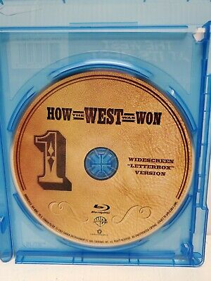 How the West Was Won (only) - blu ray - Fast Ship