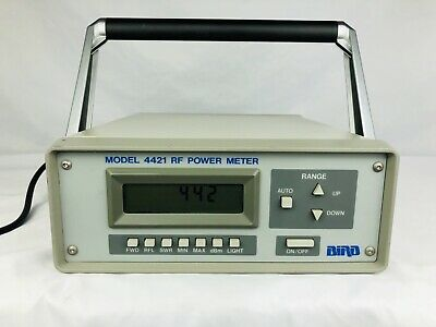 Bird 4421 4421-105 Multifunction RF Digital Power Reading Wattmeter Meter