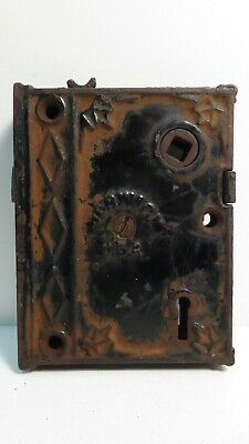 Antique Norwich Usa Door Rim Lock Latch