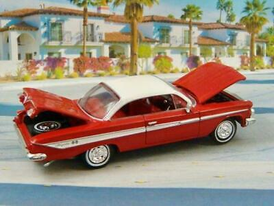 1961 61 Chevy Impala Bubble Top 409 V-8 Super Sport 1/64 Scale Limited Edition G