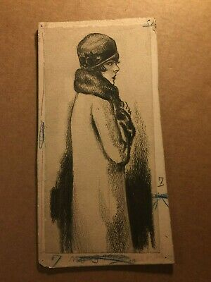 William E. Hill Rare Original Published Illustration Art NY Daily News 20s #9