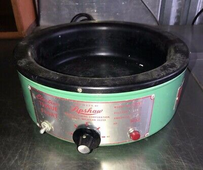 Vintage Lipshaw Electric Tissue Float Model 375