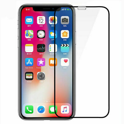New Curved Tempered Glass Screen Protect For iPhone XS Max XR X 8 6s 7 Plus