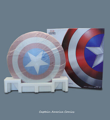DHL! Marvel Captain America Shield 1:1 Aluminum Alloy Cosplay The Avengers Prop