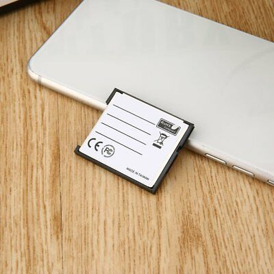 SD SDHC SDXC To CF Compact Flash Memory Card Adapter Reader Q3