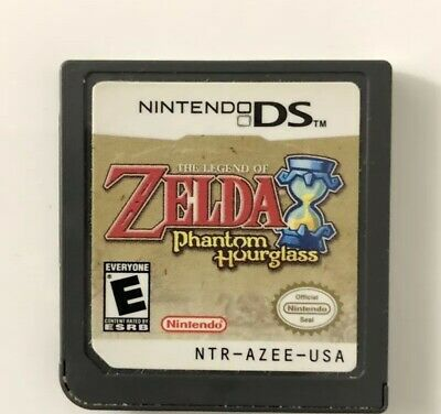 Legend of Zelda: Phantom Hourglass (Nintendo DS, 2007) Cartridge FREE SHIPPING!