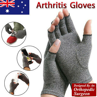 Arthritis Compression Gloves Joint Finger Pain Relief Hand Wrist Support Brace