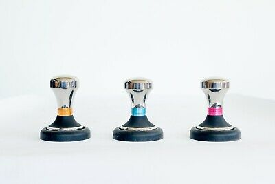 Tiamo Precision Coffee Tamper 58 mm with Tamping Mat