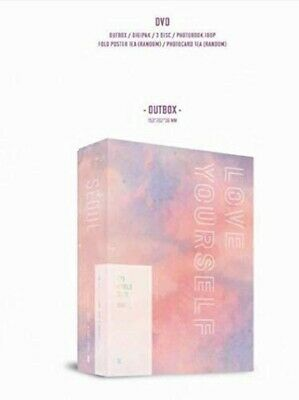 BTS WORLD TOUR 'LOVE YOURSELF' SEOUL DVD UNIVERSAL MUSIC STORE&FC Japan Limited