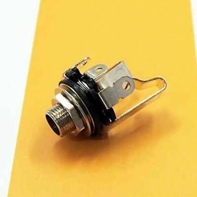 """1x Electric Guitar Socket Switchcraft 1/4"""" Input Output Jack Replacement Pa R1R2"""