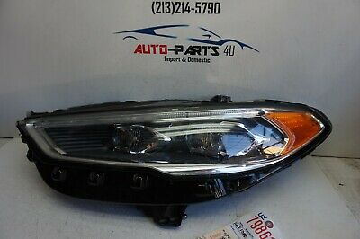 2017 2019 Ford Fusion Sport Anium Platinum Lh Full Led Headlight Oem Ue79861