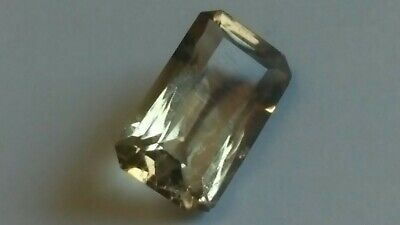 CITRIN facettiert, 16x10mm oktagon, 7,25ct.