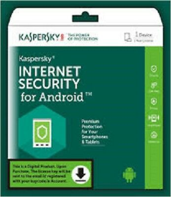 Kaspersky Internet Security for Android 1User/Devices / 1Year License