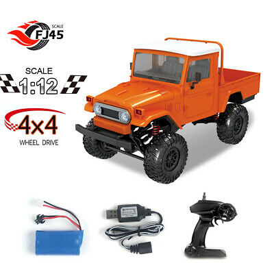 MN-45 2.4G 4WD 1/12 RC Car High Speed Electric Vehicle with Led Light RTR J6D5