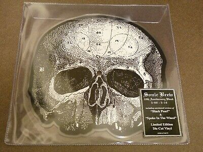 """Black Label Society Sonic Brew 20Th Anniversary 7"""" Die-Cut Pic Disc Limited 2000"""