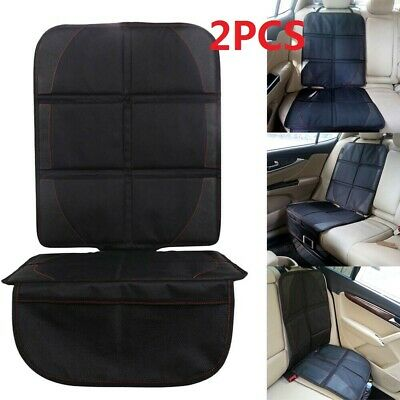 2PCS Waterproof Baby Car Seat Protector Non-Slip Child Safety Mat Cushion Cover