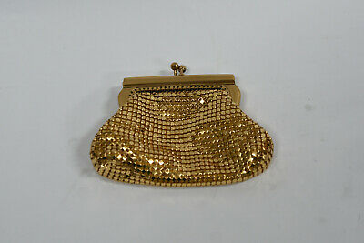 Glomesh Vintage Gold Money / Coin Purse - Retro