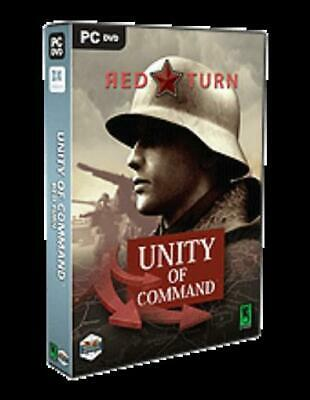 Matrix Computer Wargame Unity of Command - Red Turn Box SW