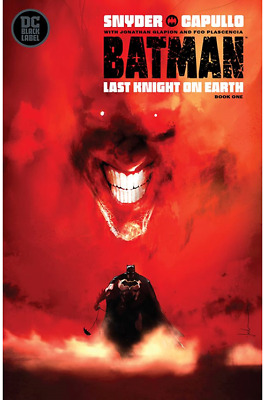 Batman: Last Knight On Earth #1 Cvr B Jock Variant (2019) Vf/Nm Dc Black Label