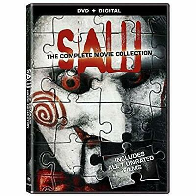 Saw The Complete Movie Collection On DVD And Digital Very Good E54