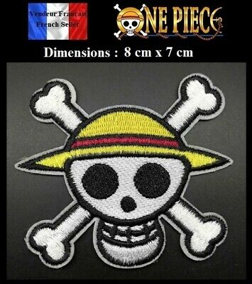 Écusson Brodé Thermocollant NEUF ( Patch Embroidered ) - Manga One Piece