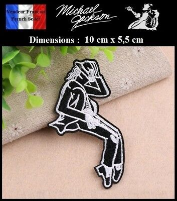 Écusson Brodé Thermocollant NEUF ( Patch Embroidered ) - Michael Jackson