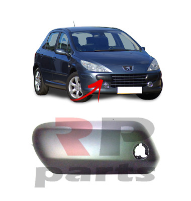 FOR PEUGEOT 307 05-07 NEW FRONT BUMPER MOLDING TRIM FOR PAINTING RIGHT O//S