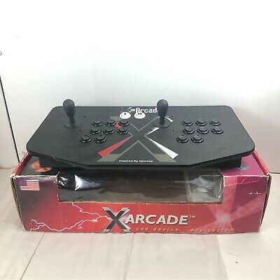 X gaming X-arcade machine retro 2 player joystick arcade vintage Original Box