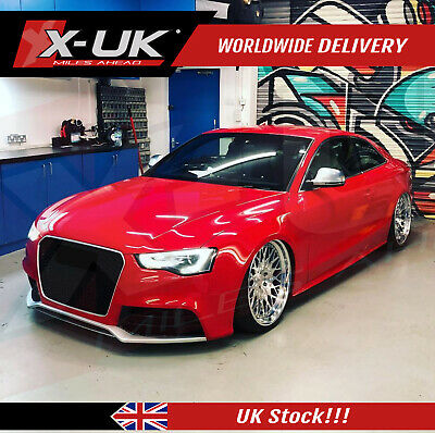 """RS5 style front bumper upgrade without grill for AUDI A5/S5 2012-2015 """"2 doors"""""""