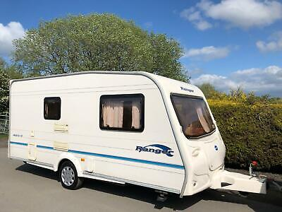 Bailey Ranger 2 Berth Caravan With End Washroom - Lightweight Caravan