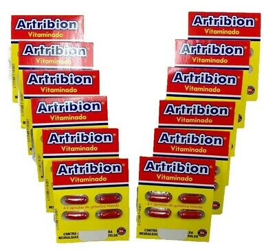 Artribion Vitaminado 12 Sobres - Sin Caja / 12 Pck With No Box