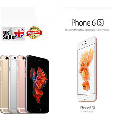 Brand New iPhone 6S Factory Unlocked Sealed Apple Smartphone Perfect Gift